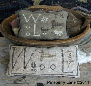 Pineberry Lane - Wool Pinkeeps