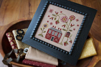 Plum Street Samplers - A Red Cottage