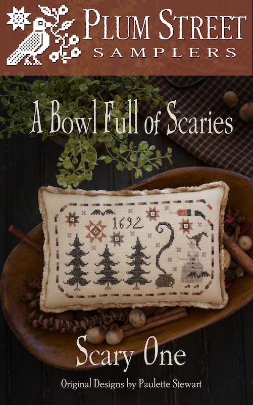 Plum Street Samplers - Serial Bowl - Bowl Full of Scaries - Scary One
