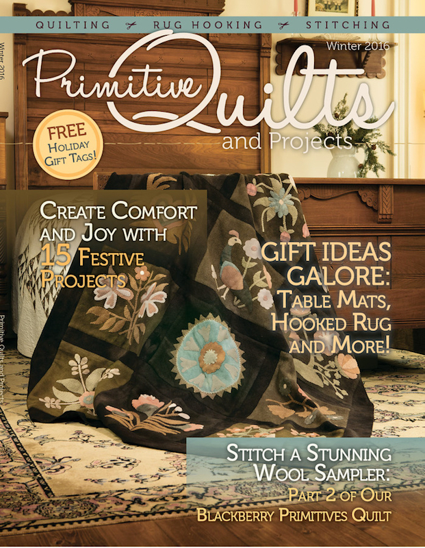 Primitive Quilts and Projects - Winter 2016
