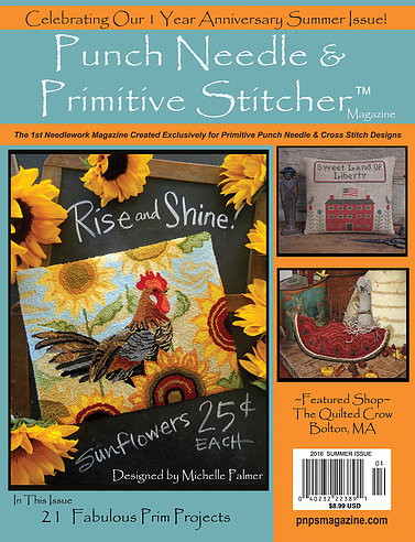 Punch Needle and Primitive Stitcher - Summer 2016