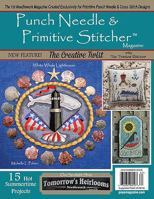 Punch Needle and Primitive Stitcher - Summer 2018
