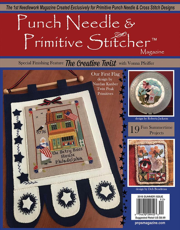 Punch Needle and Primitive Stitcher - Summer 2019