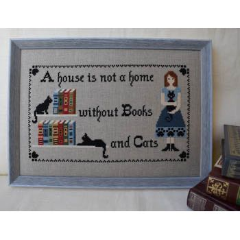 Puntini Puntini - Books and Cats