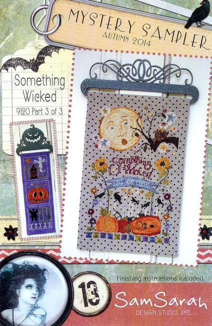 SamSarah Design Studio - Something Wicked Mystery Sampler - Part 3