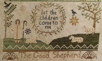 Shakespeare's Peddler - Jenny Bean For the Parlor Part Four The Good Shepherd