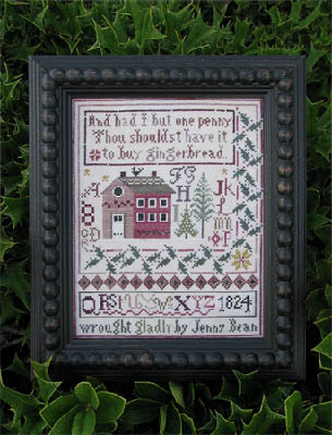 Shakespeare's Peddler - Jenny Bean's Christmas Sampler