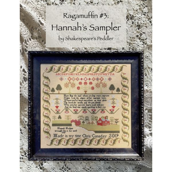 Shakespeare's Peddler - Ragamuffin #3 - Hannah's Sampler