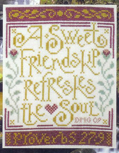Silver Creek Samplers - Sweet Friendship