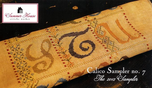 Summer House Stitche Workes - Calico Sampler #7 - STU