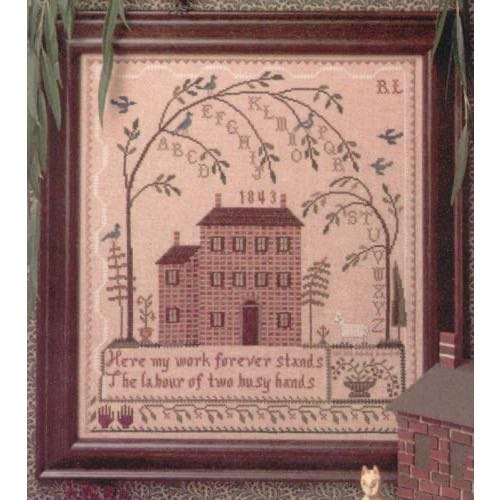 The City Stitcher - Weeping Tree Sampler