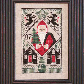 The Prairie Schooler - 2007 Limited Edition Santa - Let it Snow