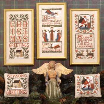 The Prairie Schooler - Christmas Samplers II