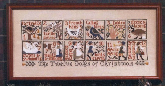 The Prairie Schooler - The 12 Days of Christmas
