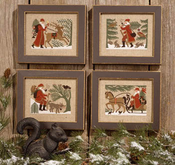 The Prairie Schooler - Woodland Santas
