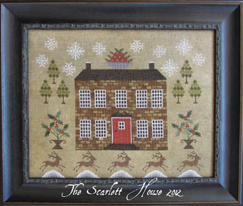 The Scarlett House - Christmastide at Holly House