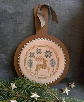 Threadwork Primitives - Leaping Stag Candle Board