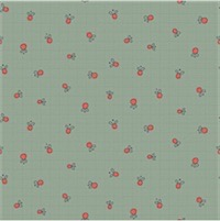 Hatched and Patched - Garden Whimsy - Light Blue Berry