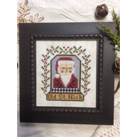 Annie Beez Folk Art - Old St. Nick