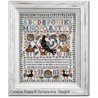Barbara Ana Designs - Portuguese Bird Sampler