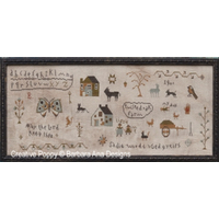 Barbara Ana Designs - Sadie Woods Sampler