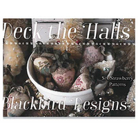 Blackbird Designs - Deck the Halls - 6 Strawberry Patterns