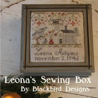 Blackbird Designs - Leona Adams Sewing Box