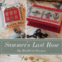 Blackbird Designs - Summer's Last Rose - Loose Feathers #46