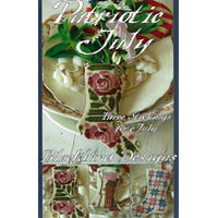 Blackbird Designs - Three Stockings for July - Patriotic July