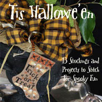 Blackbird Designs - Tis Hallowe'en (Stockings)