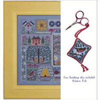 Blue Ribbon Designs - Spring Mystery Sampler - Blue Jeans and Daisies - Part 3