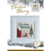 Cottage Garden Samplings - Christmas Blessing