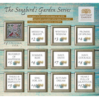Cottage Garden Samplings - Songbird's Garden Project of the Month