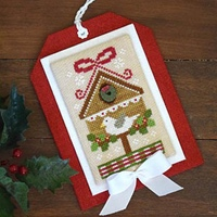 Country Cottage Needleworks - Classic Collection #9 - Christmas Birdhouse