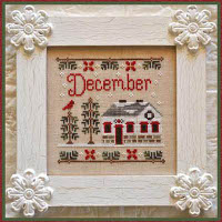 Country Cottage Needleworks - December Cottage of the Month