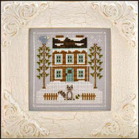 Country Cottage Needleworks - Frosty Forest Part 1 - Raccoon Cabin