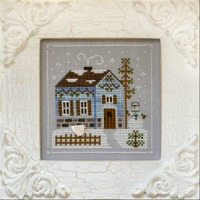 Country Cottage Needleworks - Frosty Forest Part 7 - Snowgirl's Cottage
