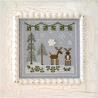 Country Cottage Needleworks - Frosty Forest Part 8 - Snowy Reindeer