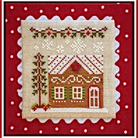 Country Cottage Needleworks - Gingerbread Village #10 - Gingerbread House 7