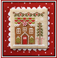 Country Cottage Needleworks - Gingerbread Village #3 - Gingerbread House 1
