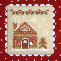 Country Cottage Needleworks - Gingerbread Village #4 - Gingerbread House 2