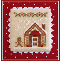 Country Cottage Needleworks - Gingerbread Village #5 - Gingerbread House 3