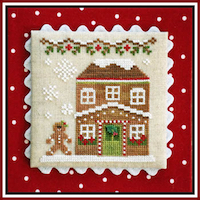 Country Cottage Needleworks - Gingerbread Village #8 - Gingerbread House 5