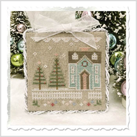 Country Cottage Needleworks - Glitter Village - Part 3 - Glitter House 3