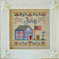 Country Cottage Needleworks - July Cottage of the Month