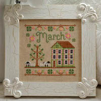 Country Cottage Needleworks - March Cottage of the Month