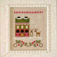 Country Cottage Needleworks - Santa's Village #6 - Reindeer Stables
