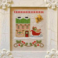Country Cottage Needleworks - Santa's Village #9 - Santa's Sleighworks