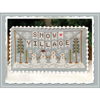 Country Cottage Needleworks - Snow Village - Part 1 - Banner