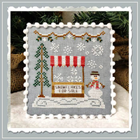 Country Cottage Needleworks - Snow Village - Part 3 - Snowflake Stand